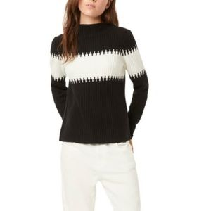 FRENCH CONNECTION Sophia Stripe Rib Sweater - NWT